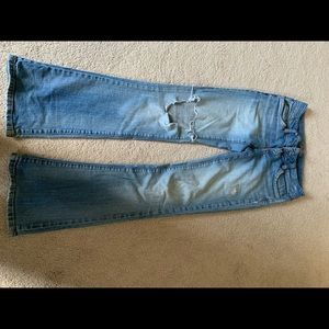 Candies size 3 ripped jeans